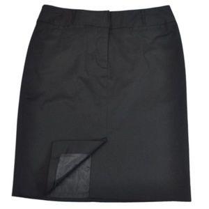 Ann Taylor Loft Pencil Skirt career straight lined